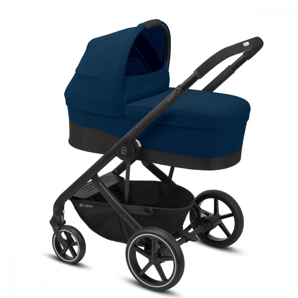 Carucior Cybex Balios S Lux 2 in 1 Navy Blue imagine