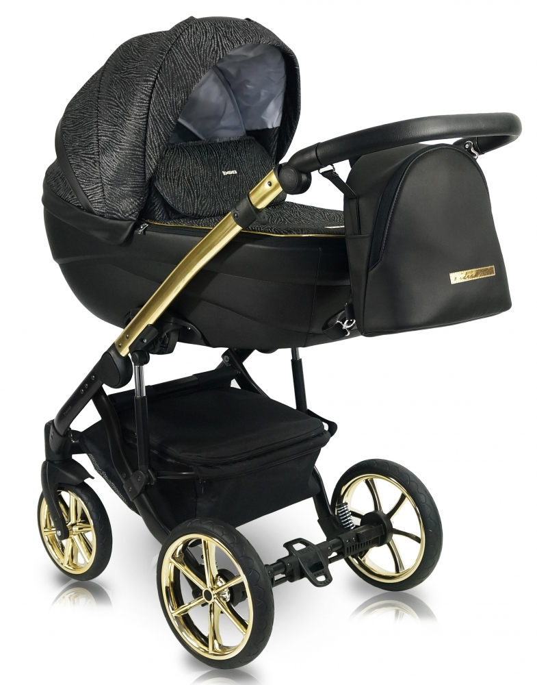 Carucior copii 3 in 1 Bexa Ideal 2020 Gold imagine