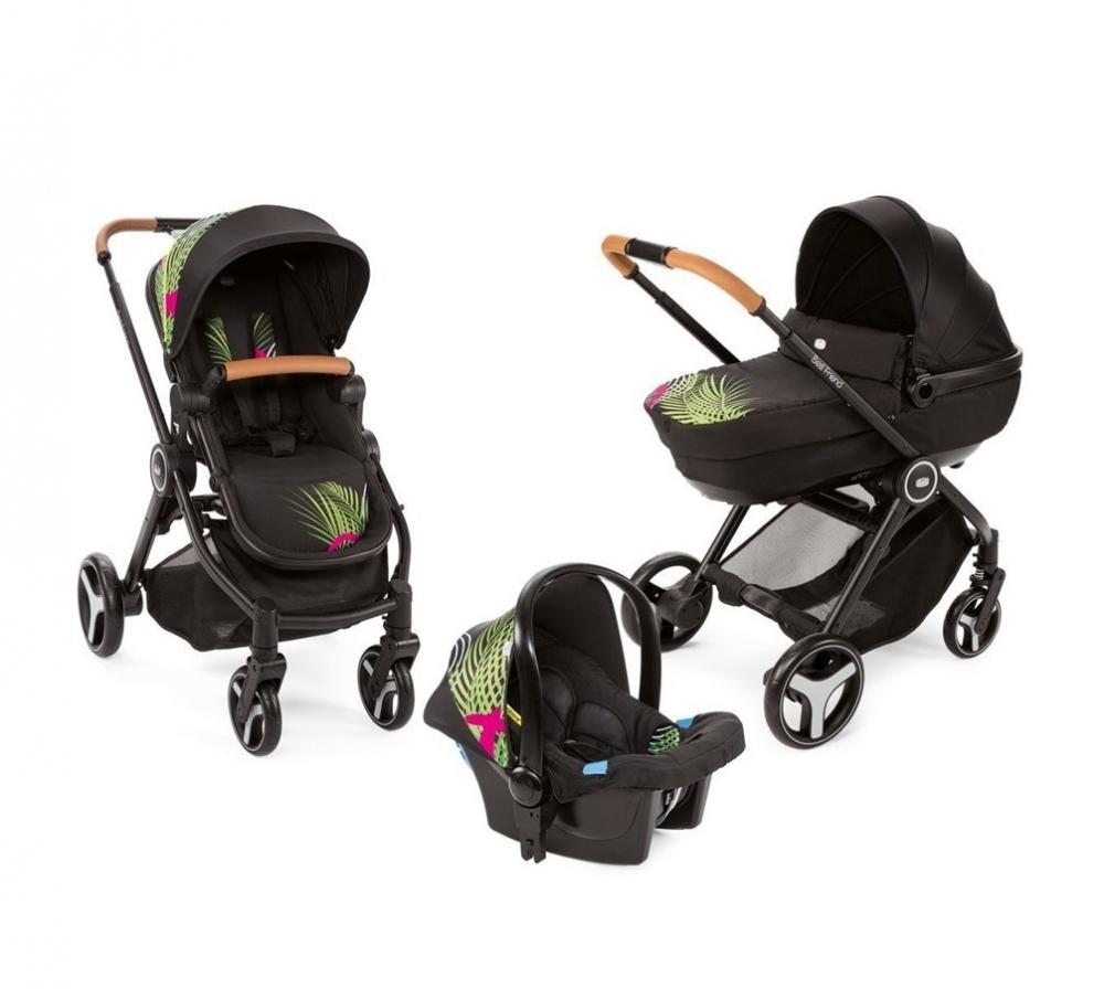 Carucior copii 3 in 1 Chicco Best Friend Comfort Optical Jungle 0luni+ imagine