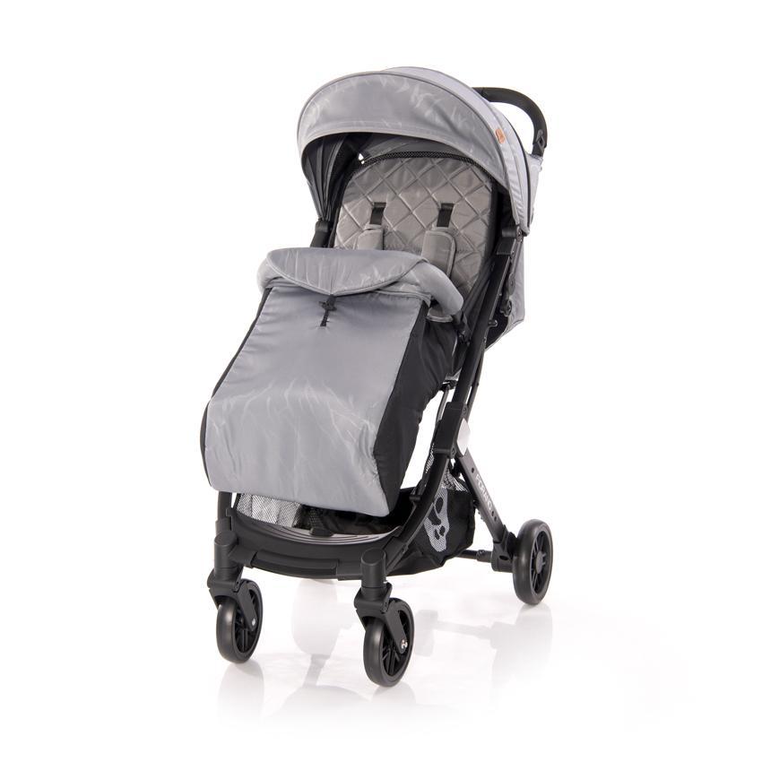 Carucior pentru nou-nascut Fiorano Grey Diamond - 2