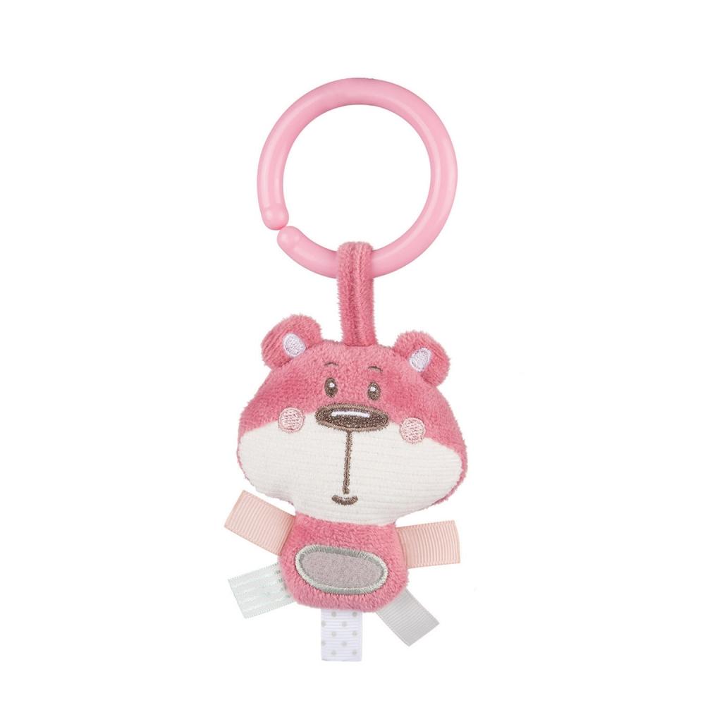 Covoras de joaca centru de activitati Pastel Friends 0 luni + roz imagine