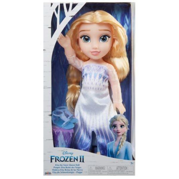 Papusa Elsa cu rochie epilog Frozen 2