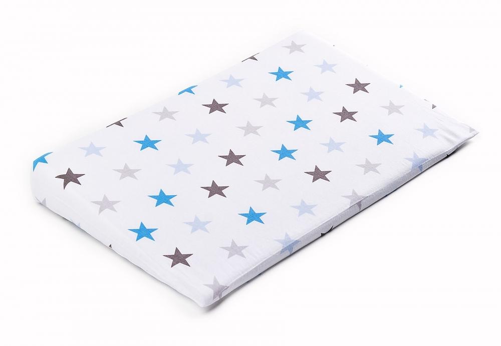 Husa pentru perna Sensillo 38x60 cm Galaxie albastra