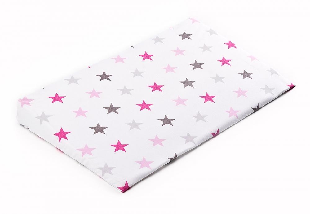 Husa pentru perna Sensillo 38x60 cm Galaxie roz