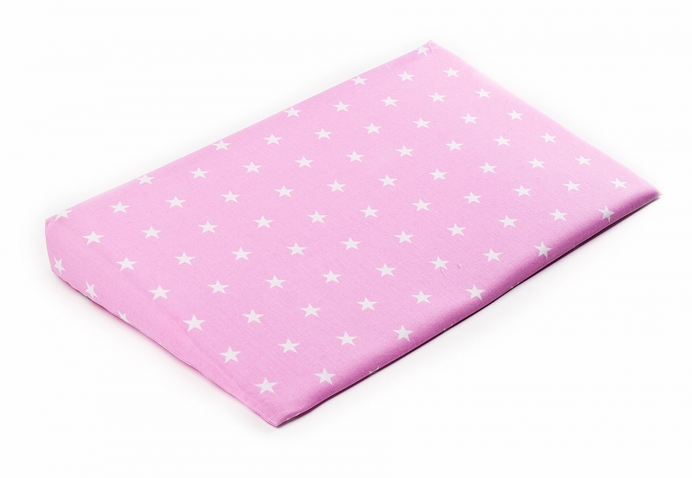 Husa pentru perna Sensillo 38x60 cm Stelute roz