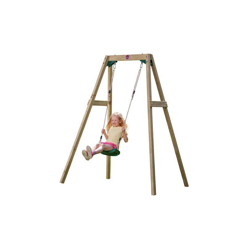 Leagan din lemn copii Single Swing Set Plum