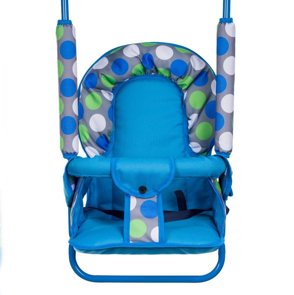 Leagan pentru copii Top Kids pentru interior si exterior Blue Dots