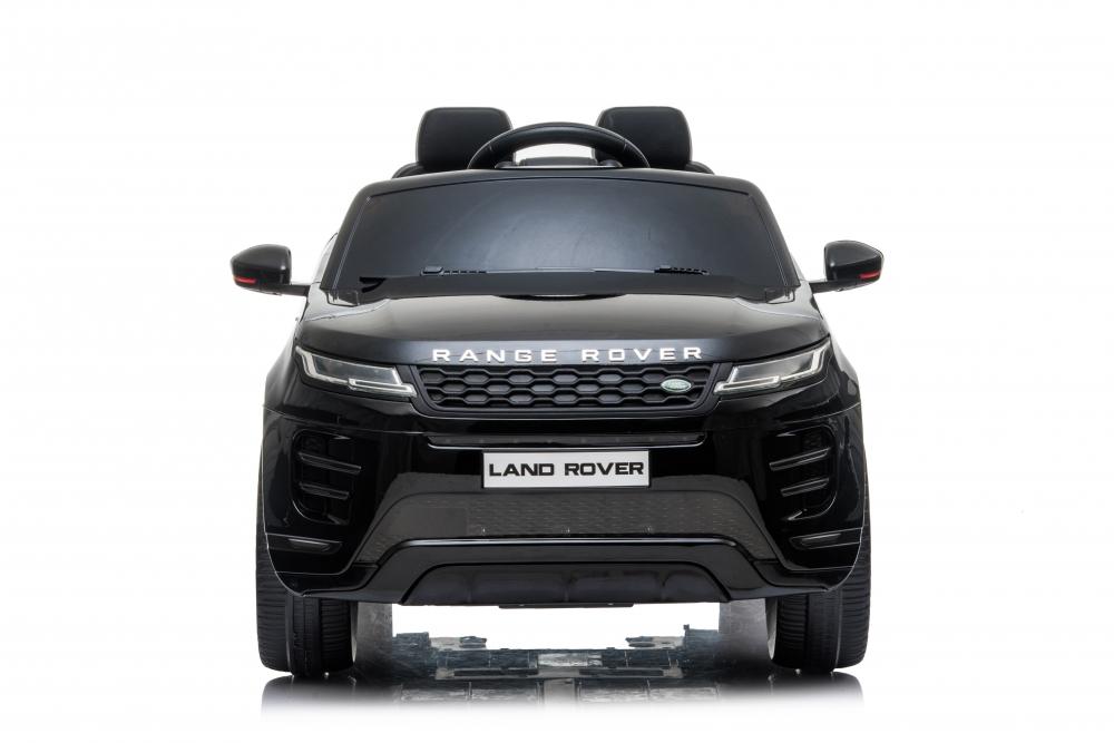 Masinuta electrica 12V cu doua locuri si roti EVA Range Rover Black