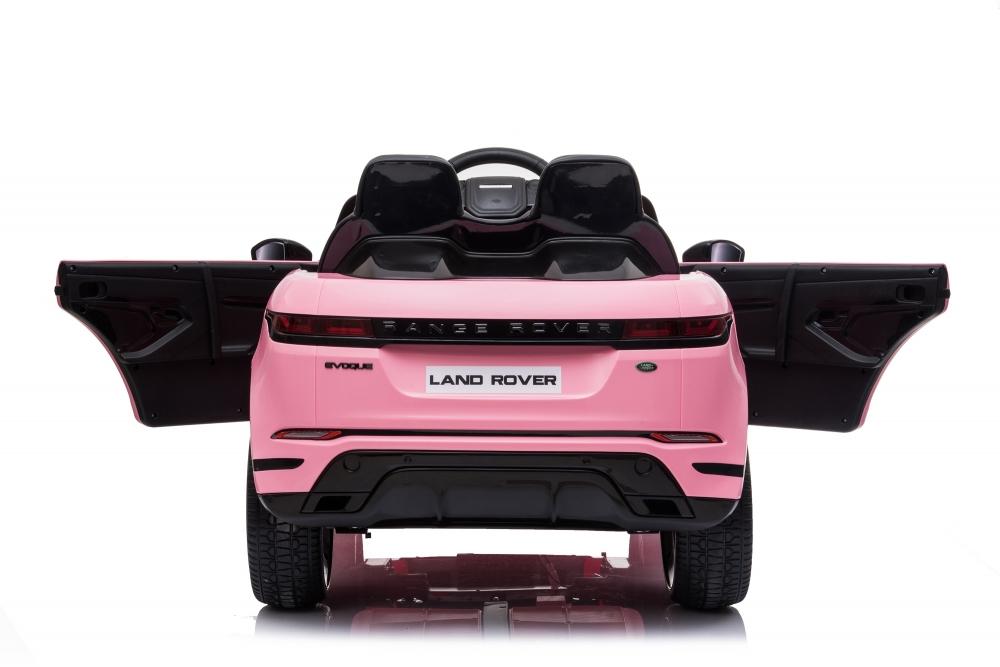 Masinuta Electrica 12v Cu Doua Locuri Si Roti Eva Range Rover Pink