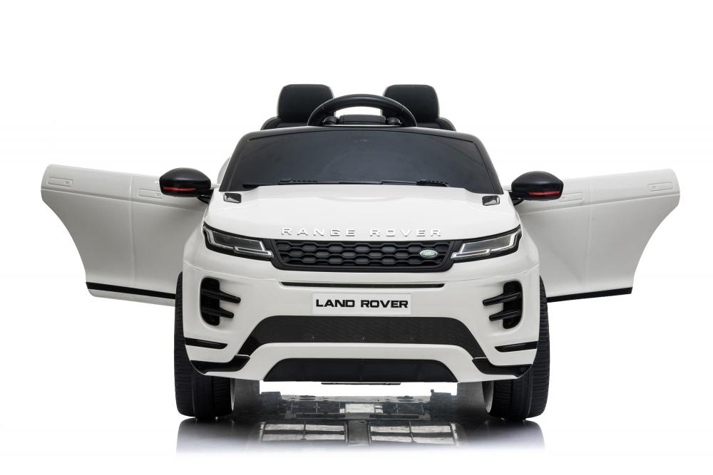 Masinuta electrica 12V cu doua locuri si roti EVA Range Rover White - 3