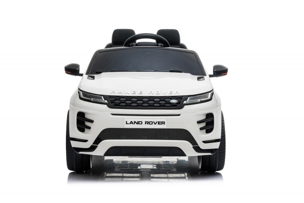 Masinuta electrica 12V cu doua locuri si roti EVA Range Rover White - 8