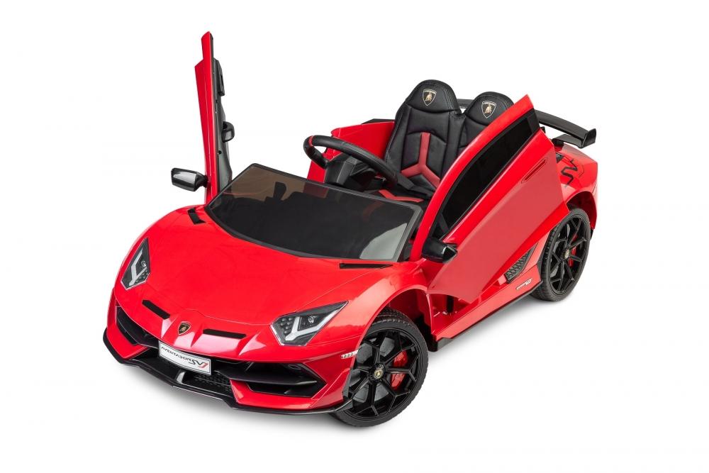 Masinuta electrica cu telecomanda Toyz Lamborghini Aventador SVJ 12V Red - 7