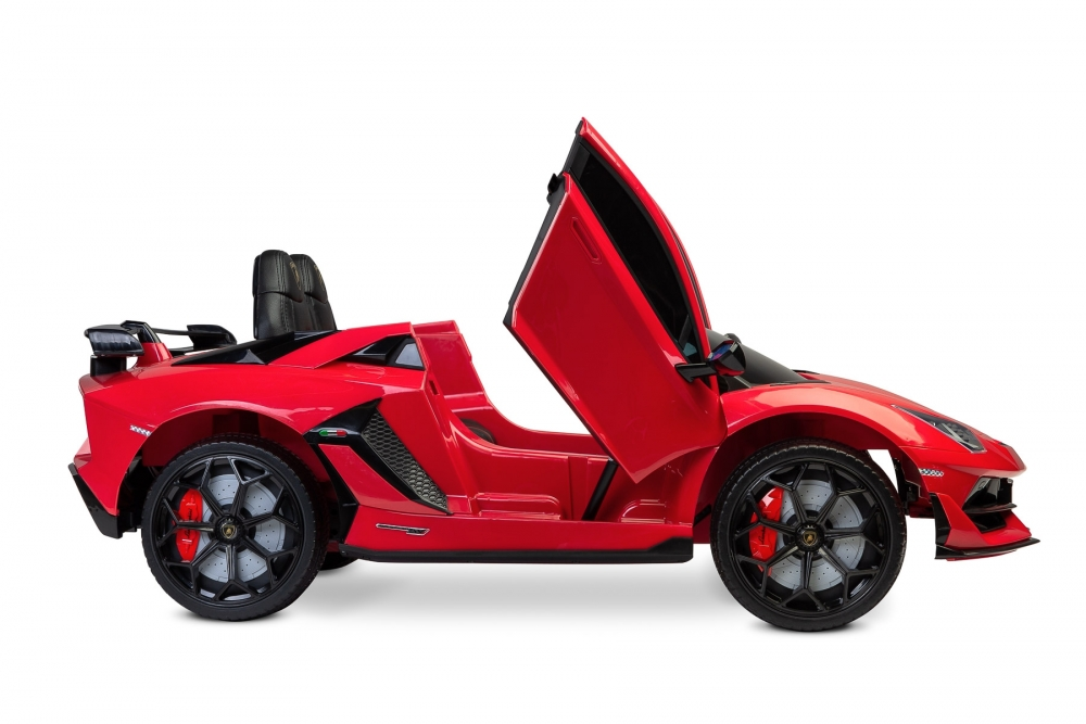 Masinuta electrica cu telecomanda Toyz Lamborghini Aventador SVJ 12V Red - 4