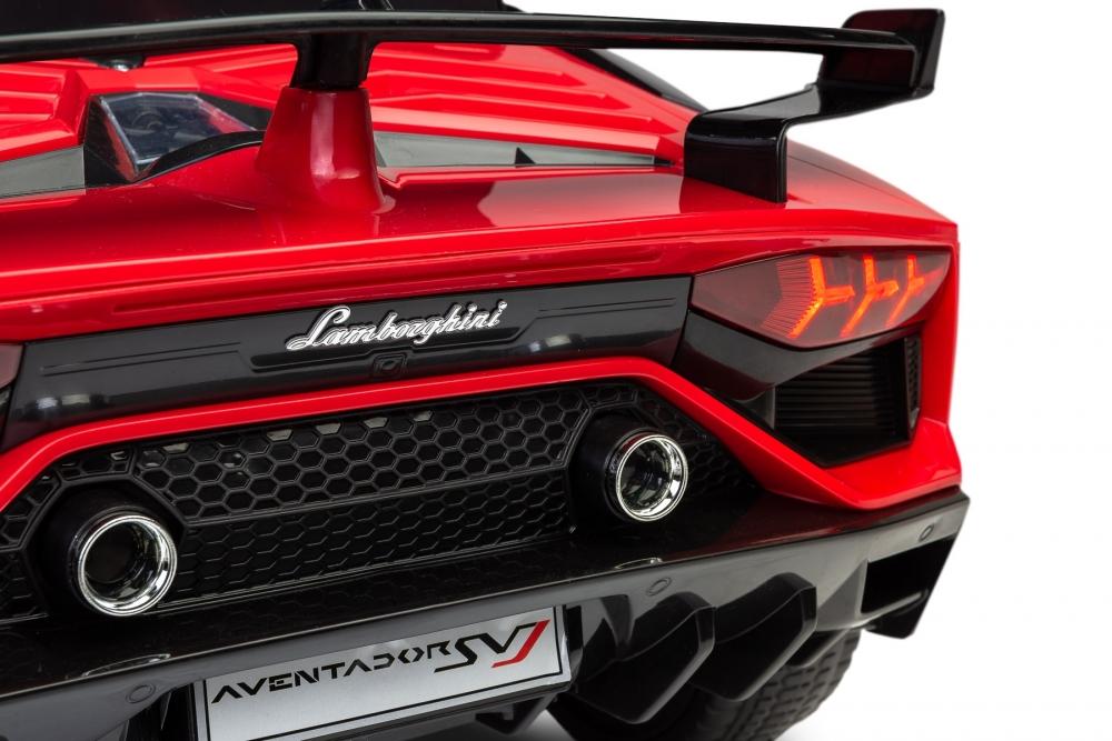Masinuta electrica cu telecomanda Toyz Lamborghini Aventador SVJ 12V Red - 5