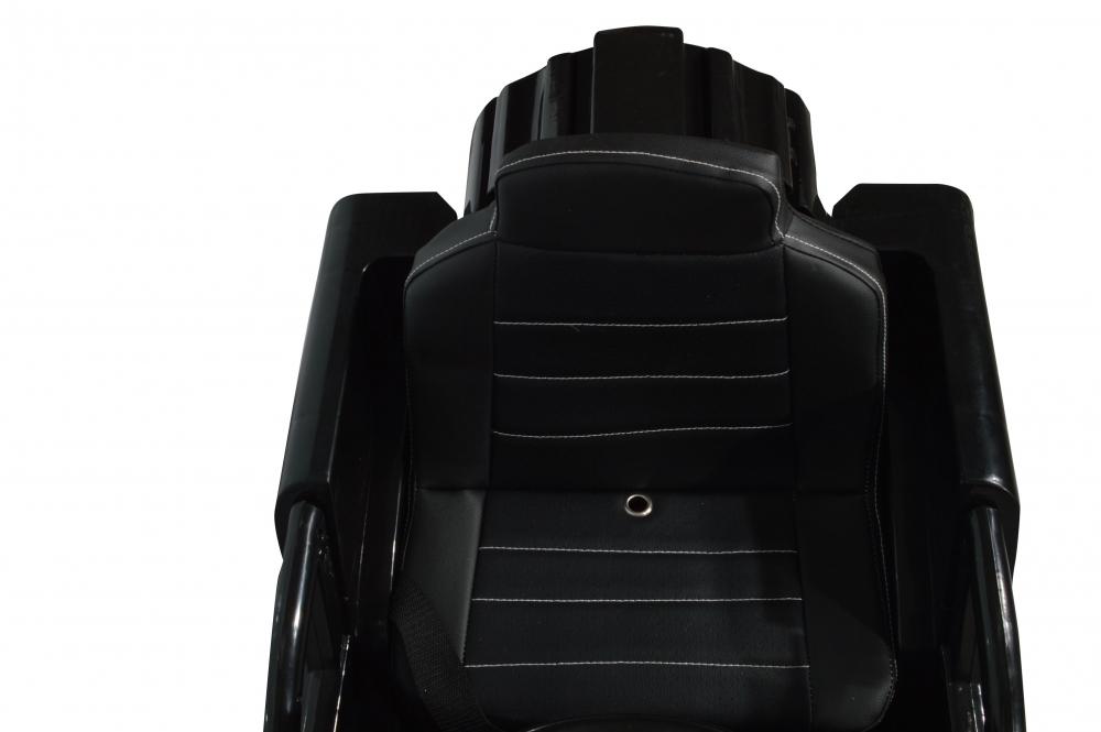 Masinuta electrica de teren cu suspensii Megalodone Black