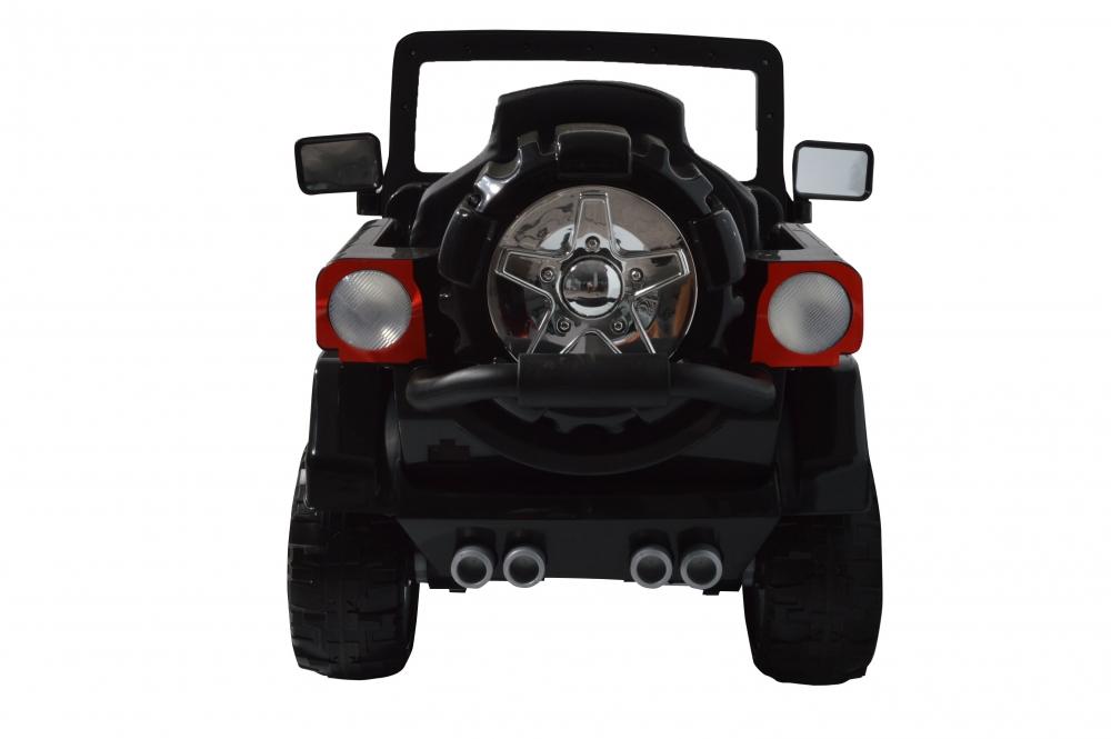 Masinuta electrica de teren cu suspensii Megalodone Black - 6