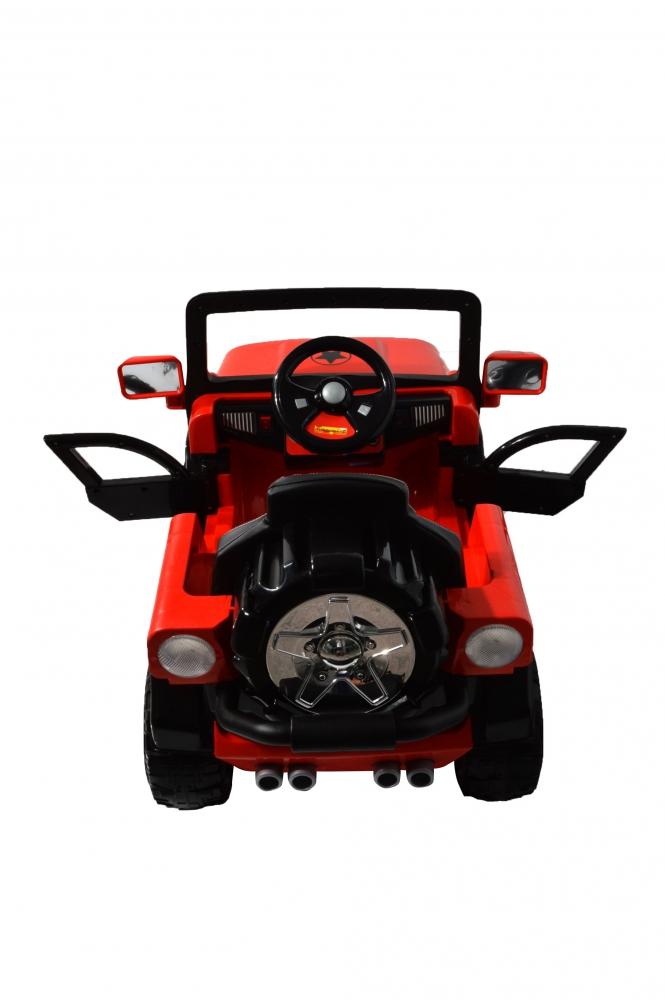 Masinuta electrica de teren cu suspensii Megalodone Red - 10
