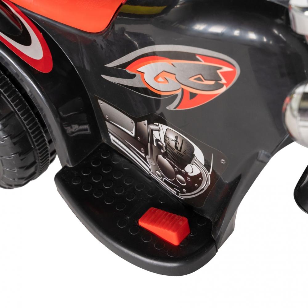 Motocicleta electrica copii cu acumulator, muzica si lumini negru