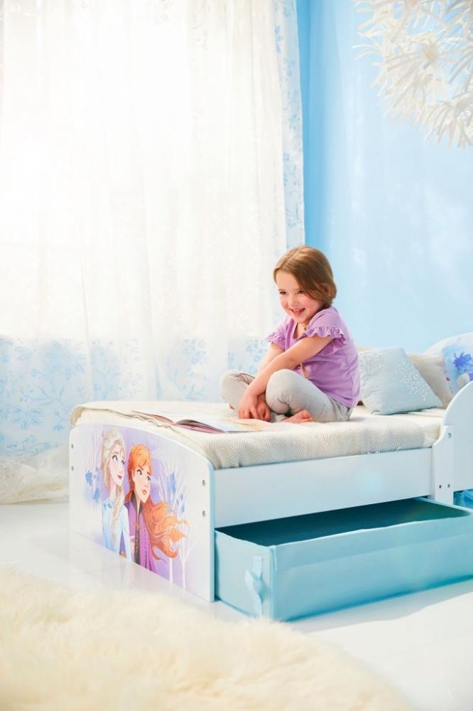 Pat Worlds Apart Disney Frozen Mdf 140x70 cm cu spatiu depozitare