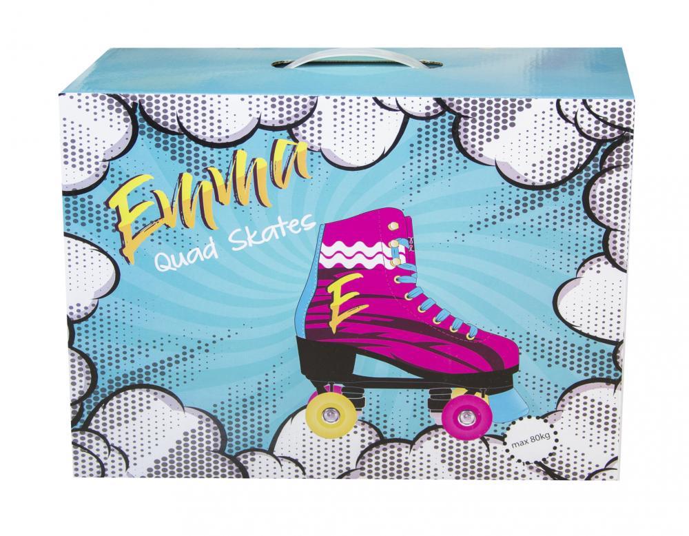 Patine cu rotile Emma Regular 35 Multicolor imagine