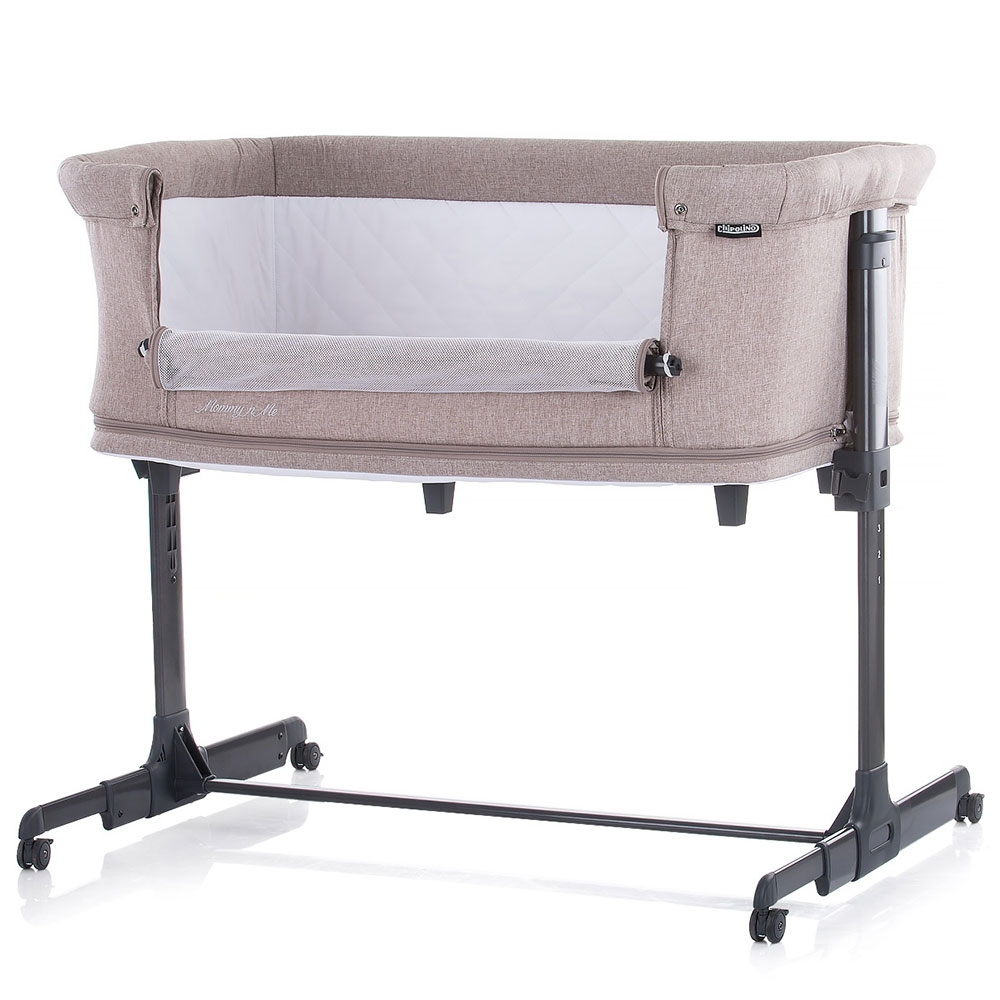 Patut Co-Sleeper si tarc Chipolino Mommyn Me beige imagine