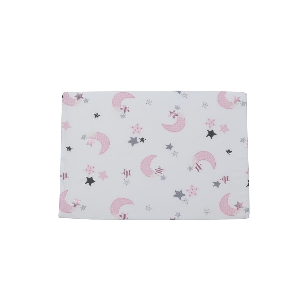 Perna plan inclinat multifunctionala Pink Moon White