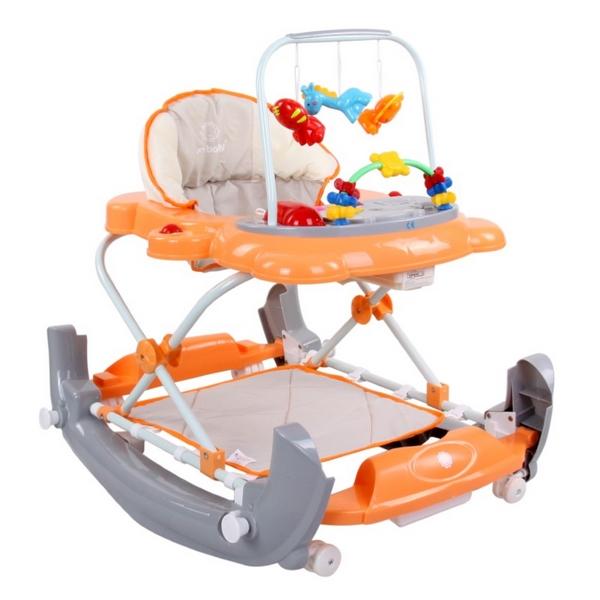 Premergator Sun Baby Pisicuta 011 Cu Functie De Balansoar Orange Grey