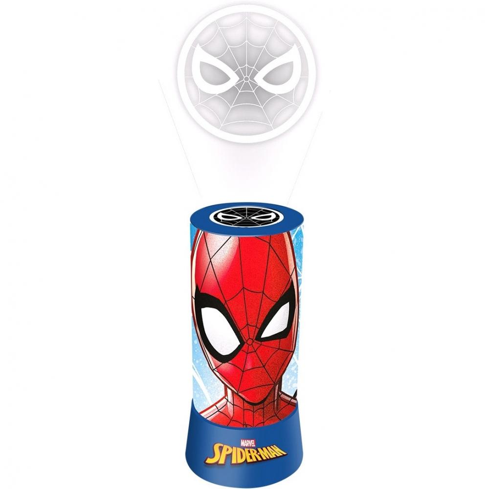 Proiector camera si lampa de veghe Spiderman Marvel SunCity imagine