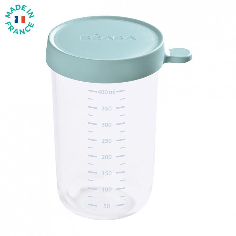 Recipient ermetic sticla 400 ml Verde