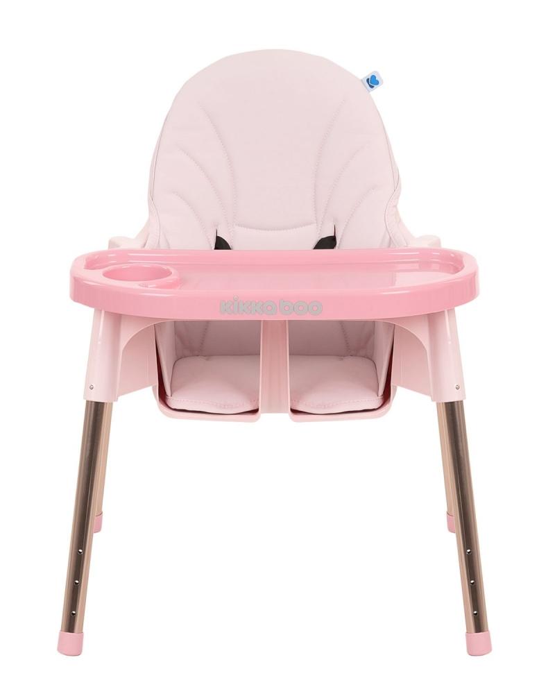 Scaun de masa KikkaBoo Sky-High 2020 Pink