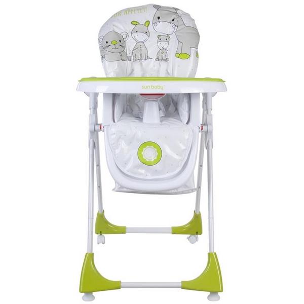 Scaun de masa Sun Baby 004 Comfort Lux Green