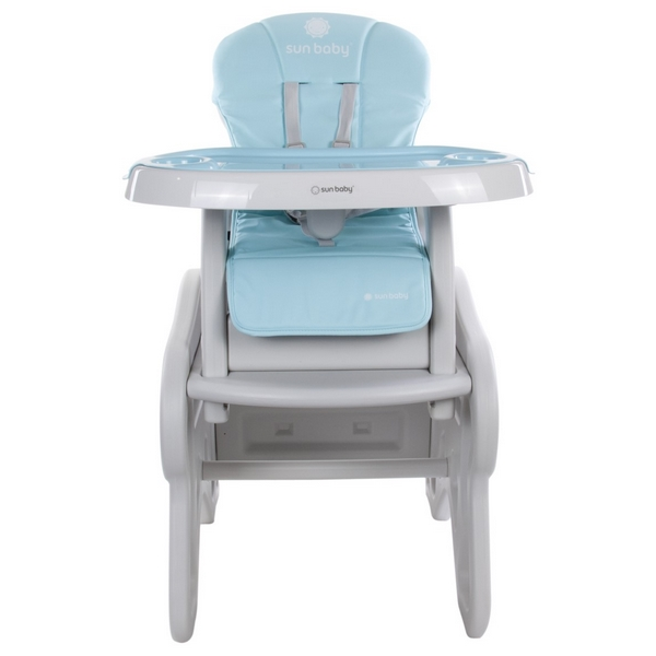 Scaun de masa Sun Baby 2 in 1 011 Catel Blue