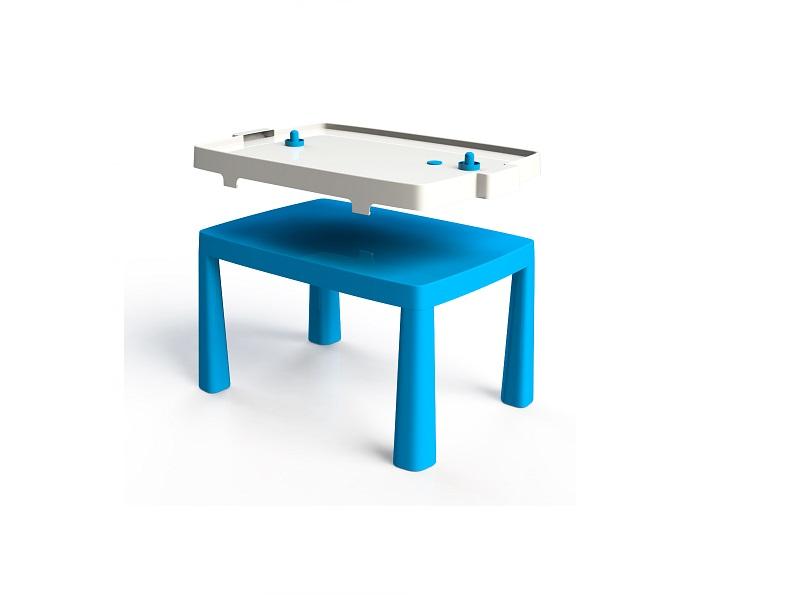 Set masa copii+scaun taburet 045801 albastru