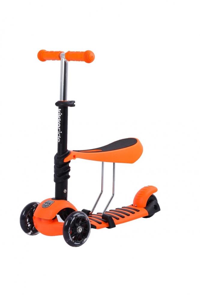 Trotineta evolutiva Scooter 3 in 1 Ride and Skate Orange