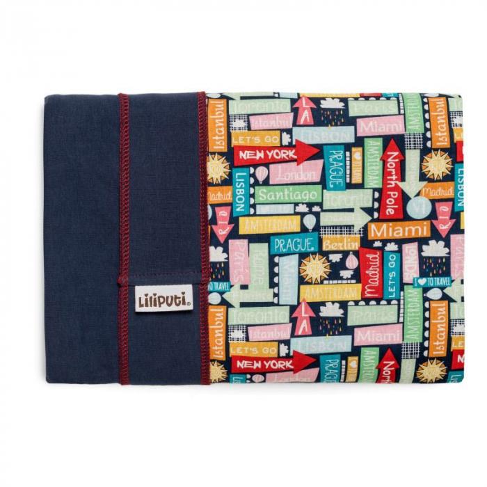 Wrap elastic Liliputi Rainbow line Traveller