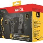 Accesoriu Joy-Con Charging Holder Steelplay pentru Nintendo Switch