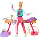 Set Barbie by Mattel Careers Gimnasta