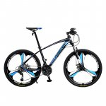 Bicicleta MTB-HT Forever F26R1B roata 26 cadru aluminiu 27 viteze culoare negru/albastru