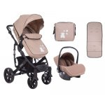 Carucior 3 in 1 KikkaBoo Beloved Beige