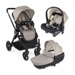 Carucior copii 3 in 1 Chicco Best Friend+ Comfort Beige 0 luni+