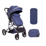 Carucior transformabil KikkaBoo 2 in 1 Tiara Dark Blue