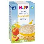 Cereale Bio cu lapte banane si piersici Gr. 4 luni 250 g Hipp