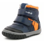 Cizme Kickers Sitrouille Wpf Bleu Orange 20 (124 mm)