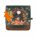 Geanta fashion cu clapeta Gorjuss-Autumn Leaves