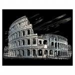Gravura pe folie argintie Colosseum