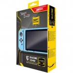 Husa de protectie Steelplay Blue pentru Nintendo Switch