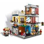 Lego Creator magazin de animale si cafenea de oras