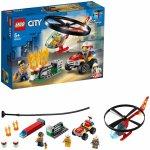 Lego City Interventie cu elicopterul de pompieri