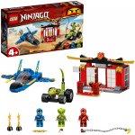 Lego Ninjago Intrecere cu avionul de lupta