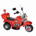 Motocicleta electrica copii cu acumulator, muzica si lumini rosu